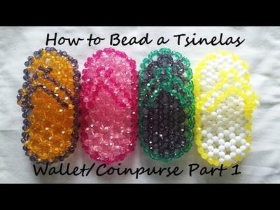 How to Bead a Tsinelas Wallet.Coinpurse Part 1