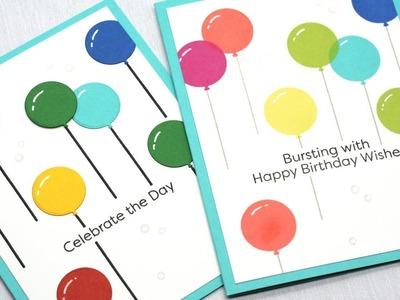 How to Create Rainbow Birthday Cards