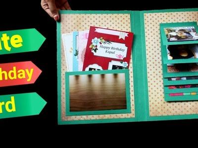 How to make a Birthday PhotoCard | Easy Handmade Birthday Card | Friendship Day Card |