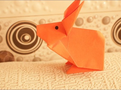 How to make a paper Rabbit origami?