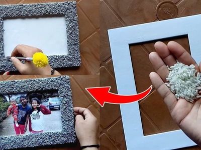 How to make a Unique Photo Frame at home