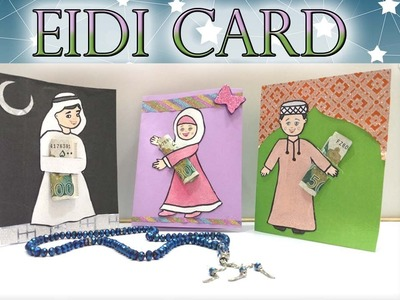 How to make diy eidi envelope card