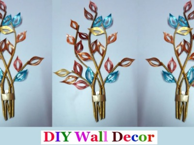 How to make Newspaper.paper Wall Decor at home |DIY-Wall.room Decoration idea| Newspaper.paper Craft
