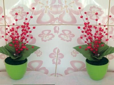 Plastic How To Make Flower Vase With Plastic Bottle Plastic