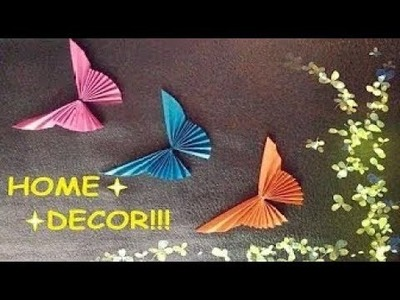 How to make SIMPLE and EASY paper Butterfly