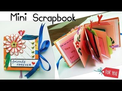 Mini Scrapbook.Mini Scrapbook for Friend.How to make Mini Scrapbook.Scrapbook Mini Album for Friends