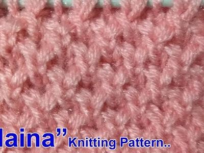Naina Beautiful Knitting pattern Design 2018