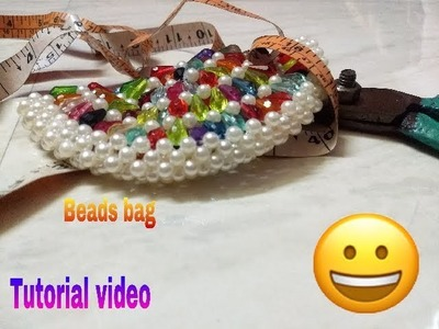 Part-2 how to make beads bag and binding made by Arpita Creation.