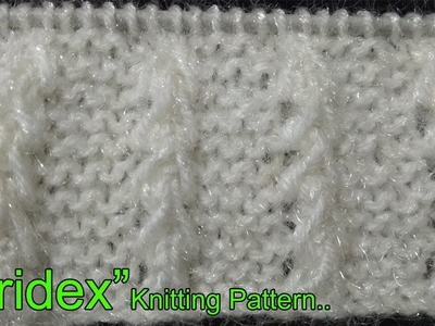 """Pridex"" Beautiful Knitting pattern  Design  2018"
