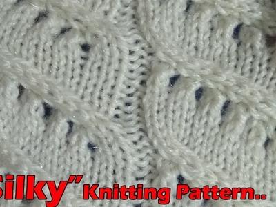 Silky Beautiful Knitting pattern Design 2018