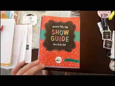 STAMP AND SCRAPBOOK EXPO 2018 part 2