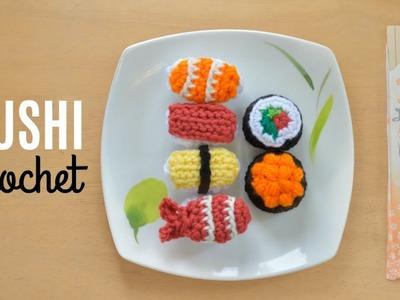 Sushi Crochet Tutorial - Amigurumi Food