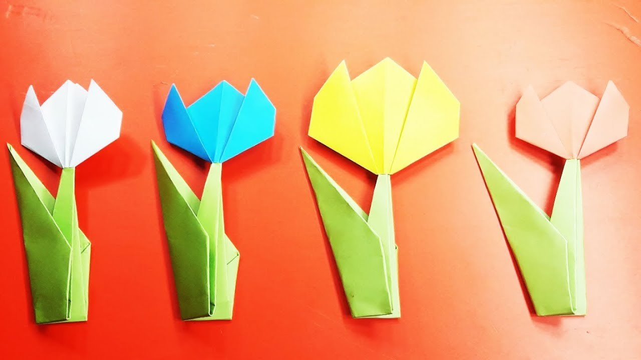 Origami Flowers Origami Flower Tutorial 10 Michaelieclark