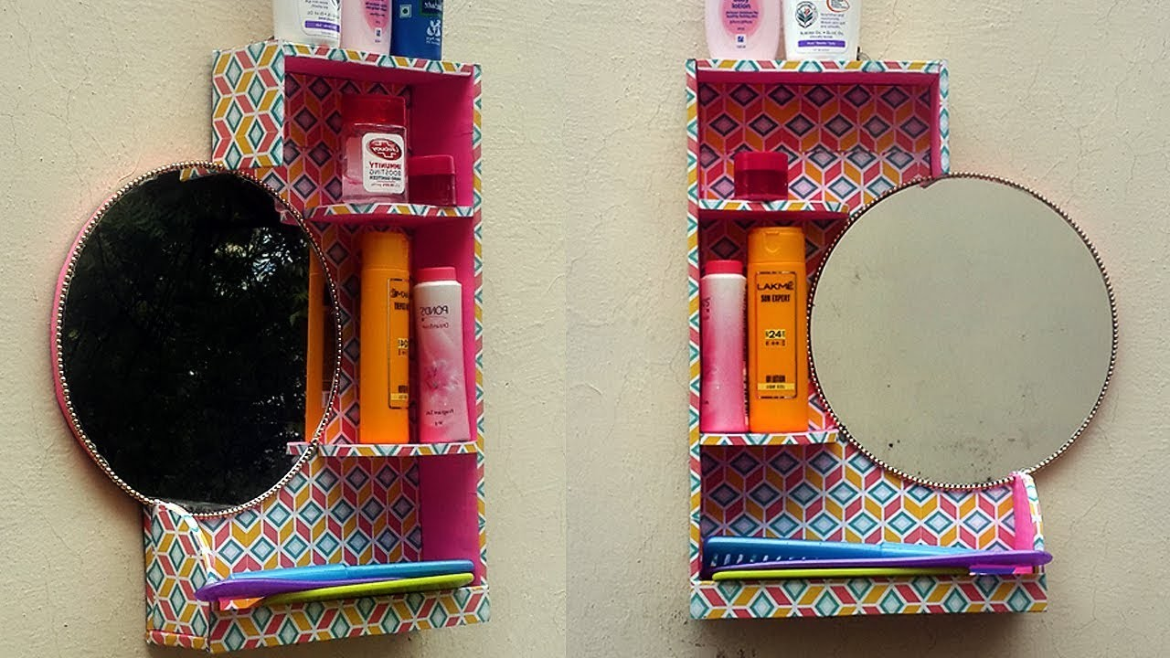 Wow! DIY- Multipurpose Organizer From Waste Material | How to Reuse Waste Cardboard