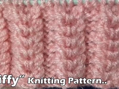 Ziffy Beautiful Knitting pattern Design 2018