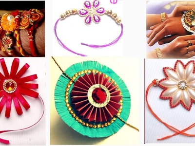 10 Easy Rakhi Designs : How to Make Rakhi at Home | Handmade Rakhi | Rakhi Designs for Competition