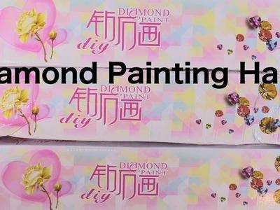 5D DIY Diamond Painting Haul Homfun Ali Express | Arts & Crafts | PaulAndShannonsLife