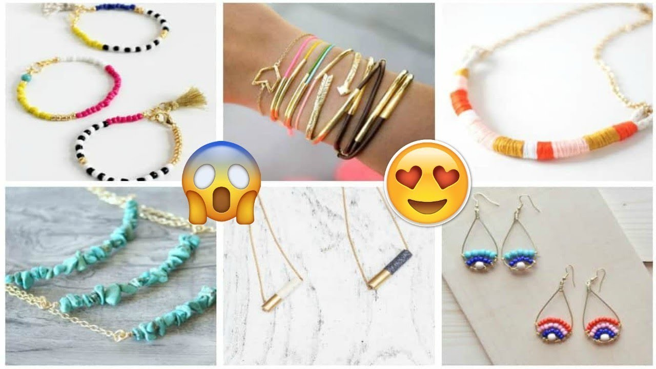 Awesome 12 Easy Crafts Ideas For DIY Jewelry 2018 YOU'LL LOVE