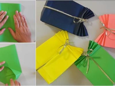 DIY crafts: Easy Paper GIFT BAG - Diella Crafts