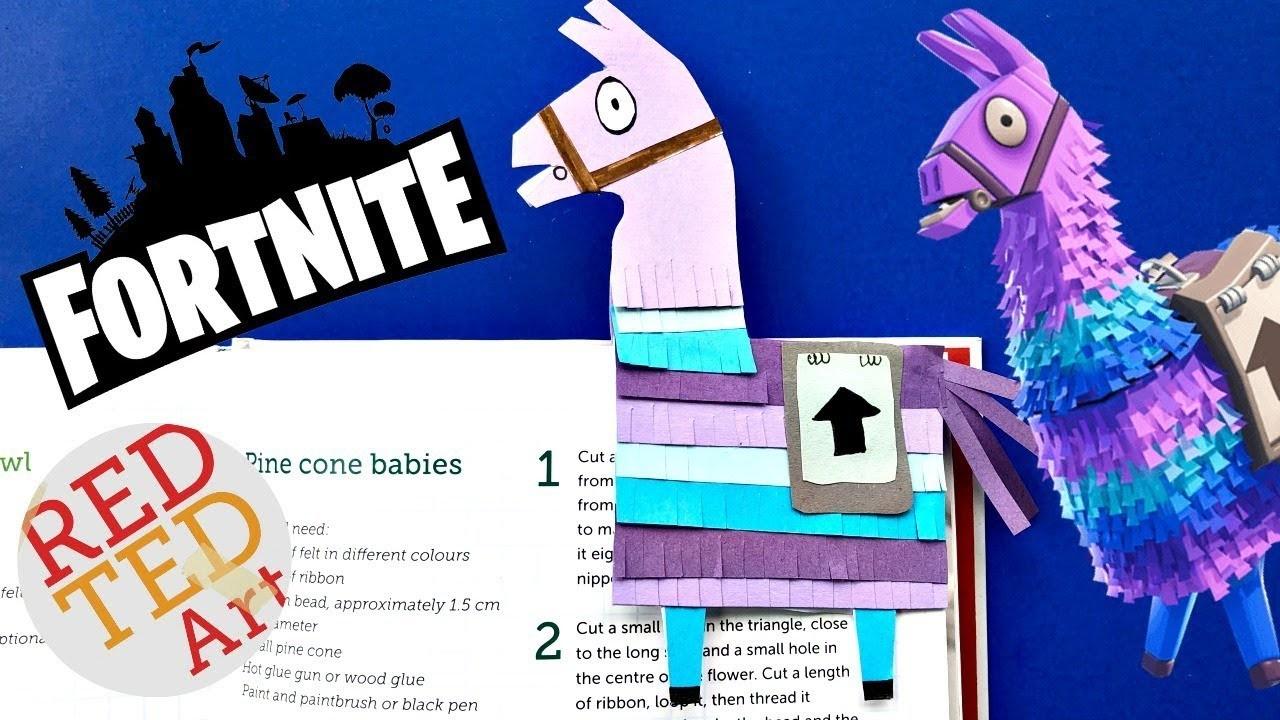 How to build fortnite llama