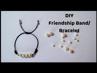 DIY Friendship Band | How to make a pearl Bracelet