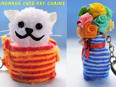 DIY: How to make Key chains at Home   Best out of waste