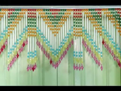 Diy - How to Make Toran For Door Hanging at Home || Easy Toran Making