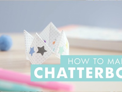 DIY Ideas - How to Make a Chatterbox. Fortune Teller