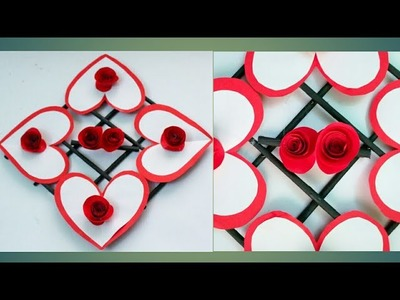 Diy Paper Flower Wall HangingHeart Shaped Hanging