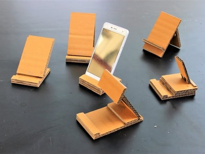 How To Make a 6 type of mobile stand