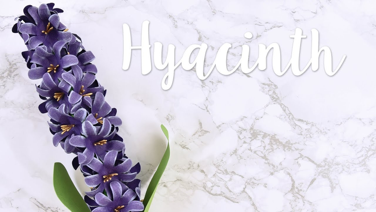How to Make a Paper Hyacinth - Sizzix Lifestyle