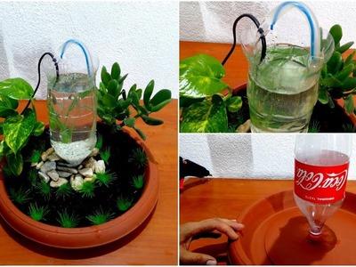 How to Make Aquarium of plastic bottle