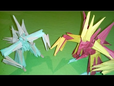 How to make Paper Transformers Robot : Origami