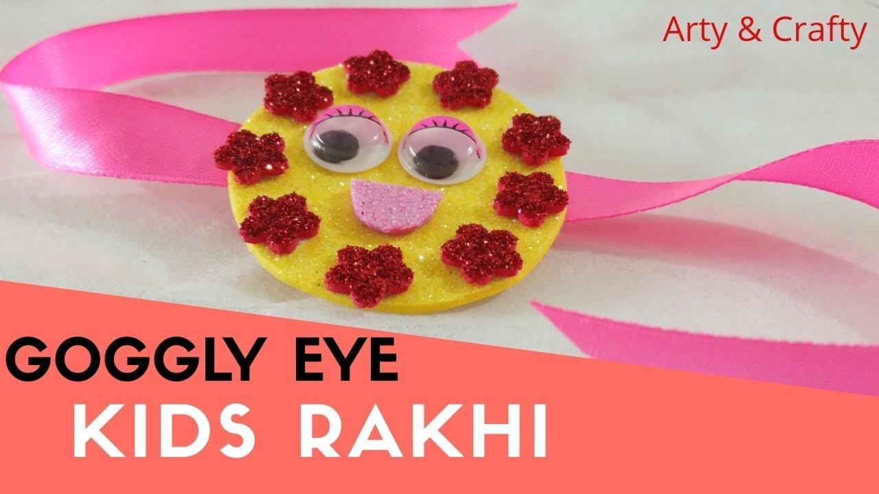 How How To Make Rakhi At Homekids Rakhi Ideahandmade Rakhi5 Min