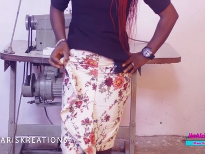 How To Sew A Straight Skirt With Flaunt Flare