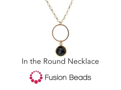 Learn how to create the In the Round Necklace by Fusion Beads