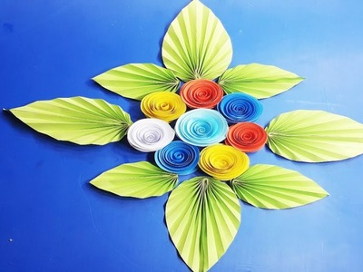 Origami paper flower for Home Decoration, Wall Decoration Door, Hanging Flower Paper Craft Ideas