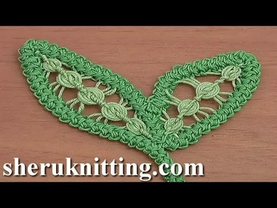 Romanian Point Lace Leaf Tutorial 75