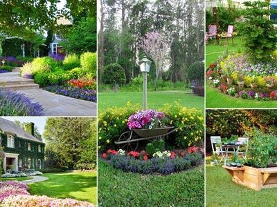 100 Beautiful and Easy Flower Beds For Your Garden   DIY Garden