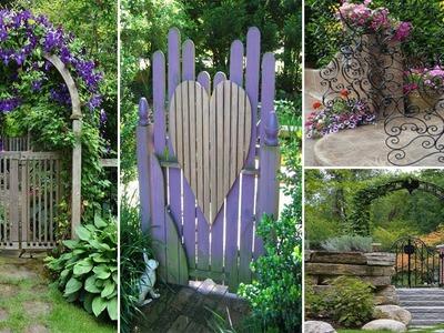 100 Best Garden Gates - Ideas for Beautiful Garden | DIY Garden