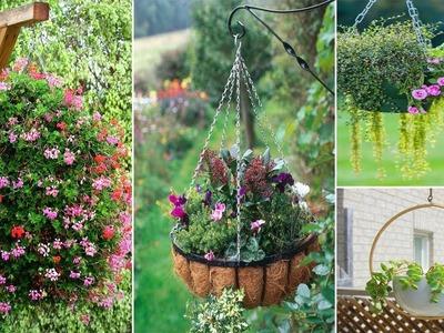 100 Best Outdoor Hanging Planter Ideas for Your Garden | DIY Garden