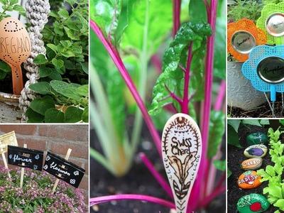 100 Easy & Cheap DIY Labels-Markers the Garden | DIY Garden