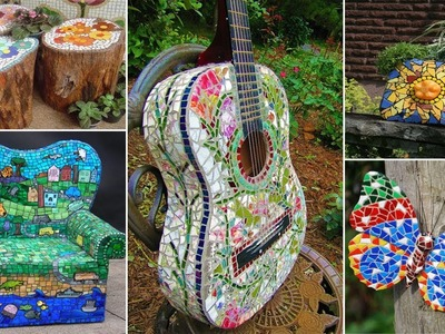 120 Magnificent DIY Mosaic Garden Decorations For Your Inspiration | DIY Garden