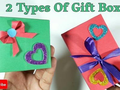2 DIY Gift Ideas   Amazing And Simple Gift Box   DIY Arts And Craft   Handmade Craft Idea