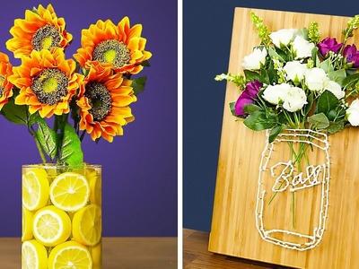 25 BEAUTIFUL DIY FLOWER DECOR IDEAS