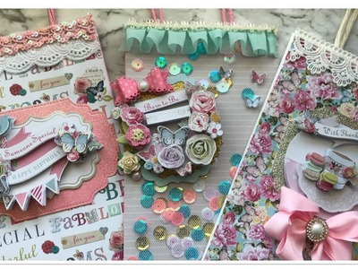 Altered Gift Bags Plus A Shaker Gift Bag | Process Video | European Paper Crafts