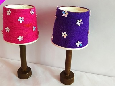 Amazing Idea From Coffee Cup || DIY Miniature Mini Lamp-Easy
