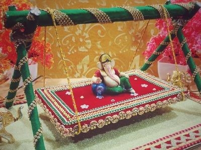 Bhagwan ji ka jhula    krishna jhula - 3    DIY