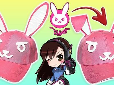 ????DIY D.VA HAT OVERWATCH Easy and inexpensive to do ????