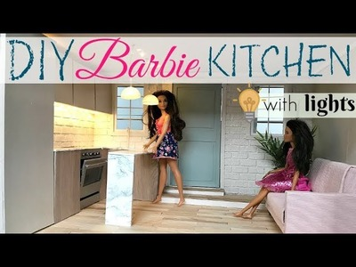 DIY: dollhouse kitchen (miniature)